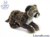 Soft Toy Cougar Cub Standing (25cm. H)