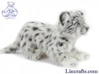 Soft Toy Snow Leopard Standing (25cm. H)