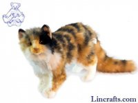 Soft Toy Tabby Cat by Hansa (62cm)