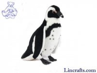 Soft Toy Black Footed Penguin by Hansa (30cm)