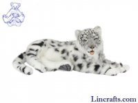 Soft Toy Widcat, Snow Leopard Lying by Hansa (66cm. L)
