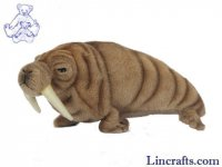 Soft Toy Walrus by Hansa (26cm. L)