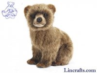 Soft Toy Brown Bear Cub by Hansa (24cm) 7037