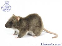 Soft Toy Rodent,Rat by Hansa (19 cm.L)