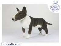 Soft Toy Bull Terrier by Hansa (69cm.L)