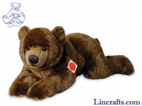 Brown Bear Lying by Teddy Hermann (60cm)
