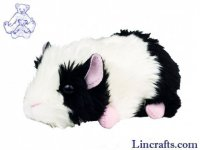 Guinea Pig black/white by Teddy Hermann 15 cm