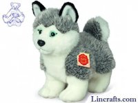 Soft Toy Husky standing by Teddy Hermann (23 cm) 92701