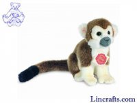 Soft Toy Brown Monkey by Teddy Hermann (17cm) 92916