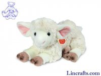 Soft Toy Sheep, Lamb by Teddy Hermann (35cm) 93435