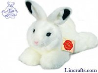 Soft Toy White Rabbit by Teddy Hermann (28 cm) 93754