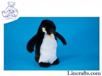 Soft Toy Bird, Emeror Penguin by Dowman Soft Touch (25cm)