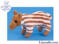 Soft Toy Mini Baby Tapir by Dowman Soft Touch (18cm)