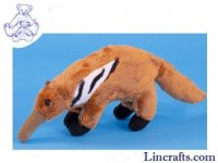 Soft Toy Mini Anteater by Dowman Soft Touch (16cm) RA951
