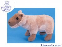 Soft Toy Mini Capybara by Dowman Soft Touch (18cm) RA952