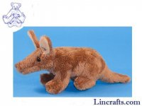 Soft Toy Mini Aardvark by Dowman Soft Touch 18cm)