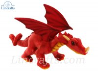 Soft Toy Red Dragon by Hansa (30cm)5937