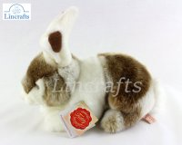 Soft Toy Brown Rabbit by Teddy Hermann (22cm) 93752