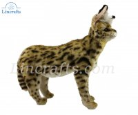 Soft Toy African Serval Cat Standing (48cm.L)