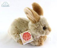 Soft Toy Beige Rabbit by Teddy Hermann (18cm) 93702