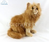 Soft Toy Red (Ginger) Cat by Hansa (31cm) 4223