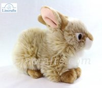 Soft Toy Bunny Rabbit Sitting by Teddy Hermann (25cm) 93773