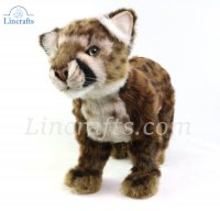 Soft Toy Cougar Cub Standing (25cm. H) 6953