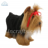 Soft Toy Dog, Yorkshire Terrier by Hansa (36cm) 5909