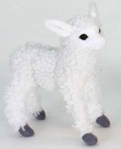Soft Toy Lamb White by Hansa (15cm)