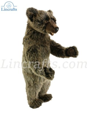 Soft Toy Grizzly Bear by Hansa (50cm) 3622
