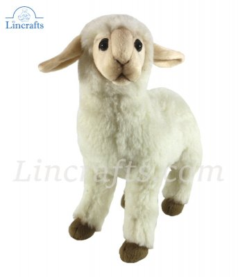 Soft Toy Sheep. Lamb by Hansa (28cm) 3455