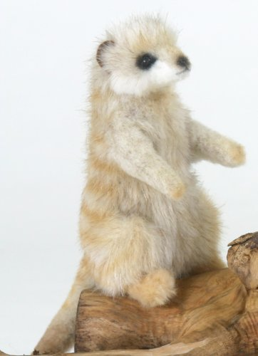 Soft Toy Meerkat by Hansa (12cm)