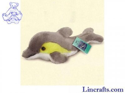 Soft Toy Sea Creature, Dolphin by Teddy Hermann (30cm) 90031