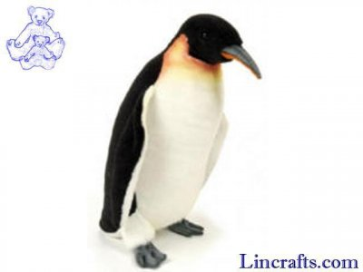 Soft Toy Bird, Emperor Penguin by Hansa (37cm) 2680
