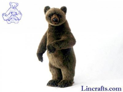 Soft Toy Grizzly Bear by Hansa (66cm) 3606