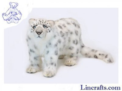 Soft Toy Wildcat, Snow Leopard by Hansa (65cm) 4272