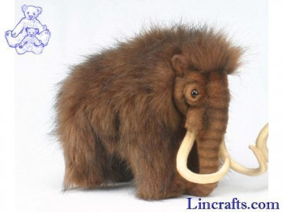 Soft Toy Wooly Mammoth by Hansa (32cm) 4660
