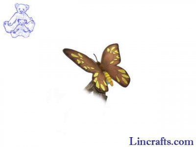 Soft Toy Female Butterfly by Hansa (36cm) 5091