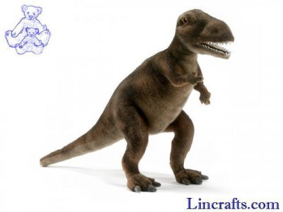 Soft Toy Dinosaur, T-Rex by Hansa (40cm)