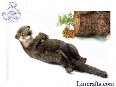 Soft Toy Otter by Hansa (34cm) 5167