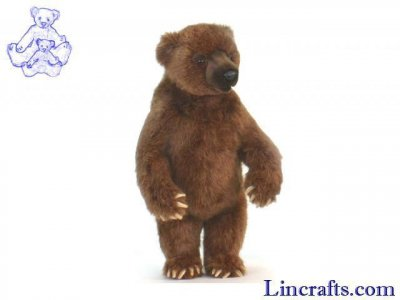 Soft Toy Grizzly Bear  by Hansa(56cm) 5336