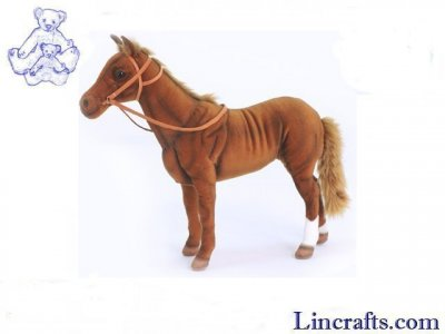 Soft Toy Race Horse Phar'Lap by Hansa (36cmH)
