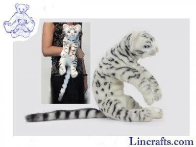 Soft Toy Bengal Cat by Hansa (42cm) 6351
