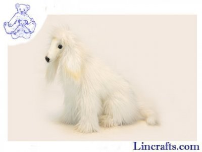Soft Toy Dog, Afghan Hound, by Hansa (36cm)