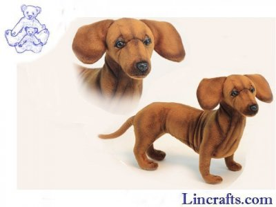 Soft Toy Dog, Dachshund by Hansa (42cm) 6420