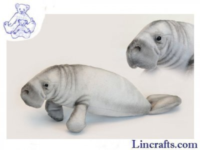 Soft Toy Sea Creature, Manatee, Sea Cow by Hansa (45cm) 6603
