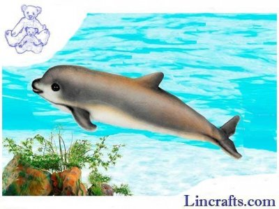 Soft Toy Porpoise Vaquita by Hansa (31cm.L) 6804