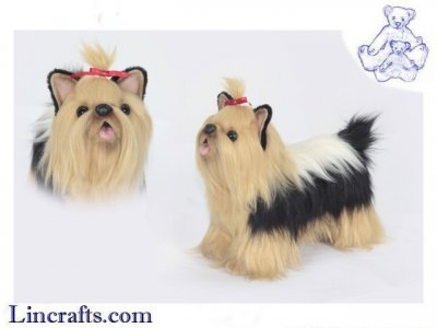 Soft Toy Yorkshire Terrier by Hansa (35 cm.L) 6850