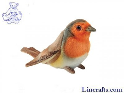 Soft Toy Robin Redbreast by Hansa (12cmH) 6920