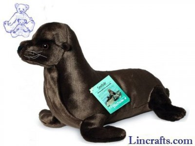 Soft Toy Fur Seal by Teddy Hermann (32 cm) 90143